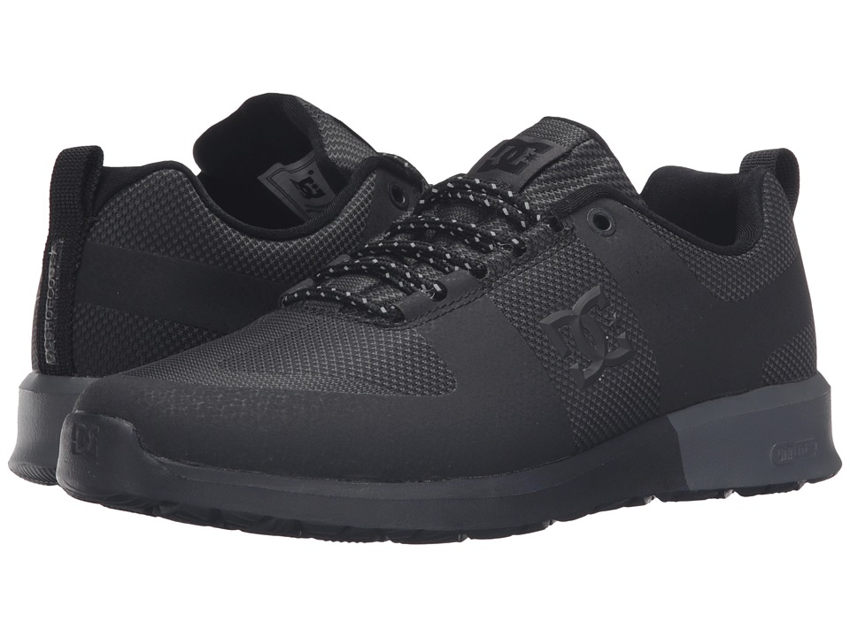 DC - Lynx Lite R (Black/Black) Skate Shoes