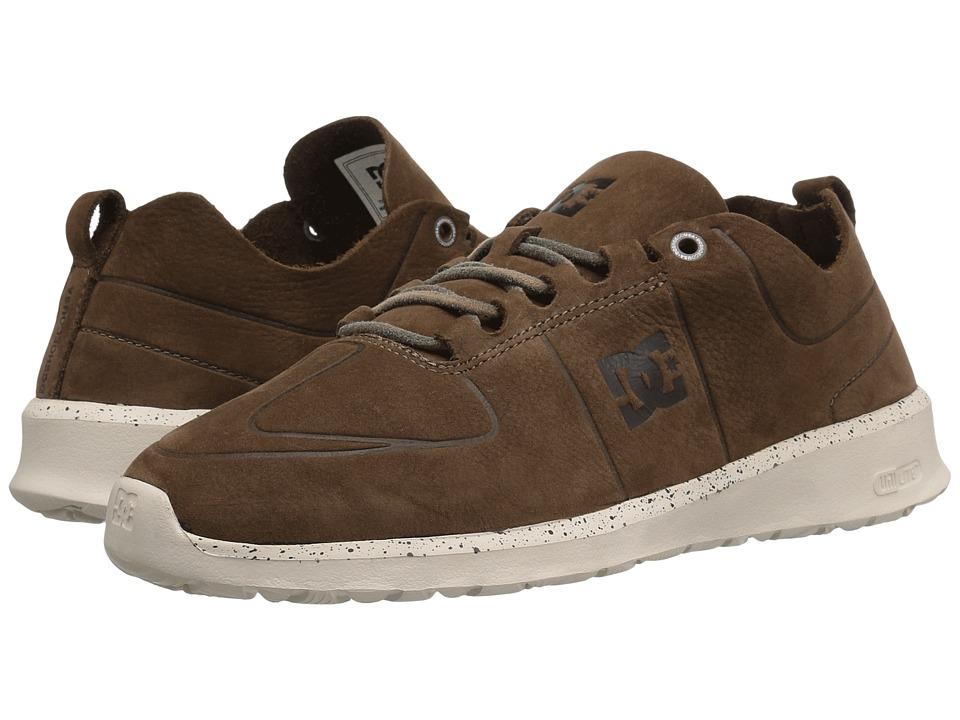 DC - Lynx Lite Zero (Brown) Men's Skate Shoes