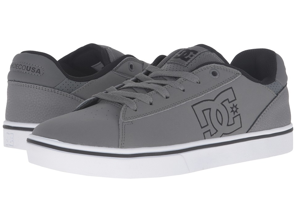 DC - Notch (Grey/White) Men's Skate Shoes