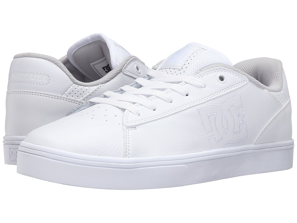 DC - Notch (White 2) Men's Skate Shoes