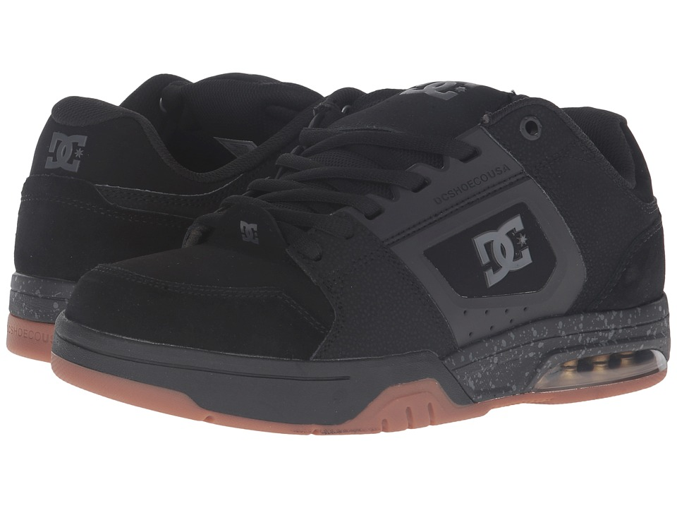 DC - Rival (Black) Men's Skate Shoes