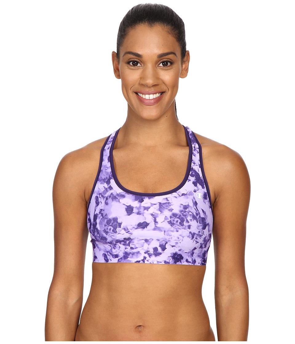 Champion - Absolute Bra (Mystic Purple Algae Puff/Mystic Purple) Women's Bra