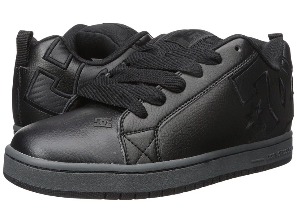 DC - Court Graffik SE (Black 3) Men's Skate Shoes