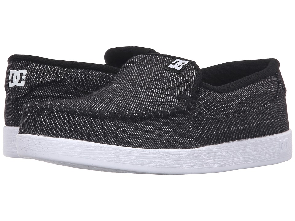 DC - Villain TX (Black Wash) Men's Skate Shoes