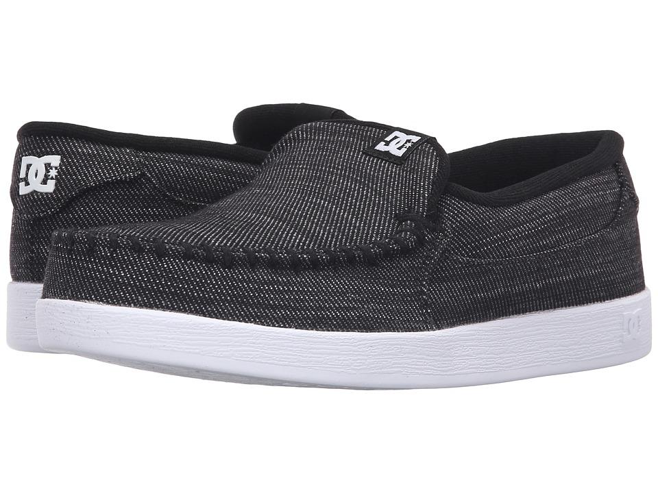 DC - Villain TX (Black Wash) Men's Skate Shoes