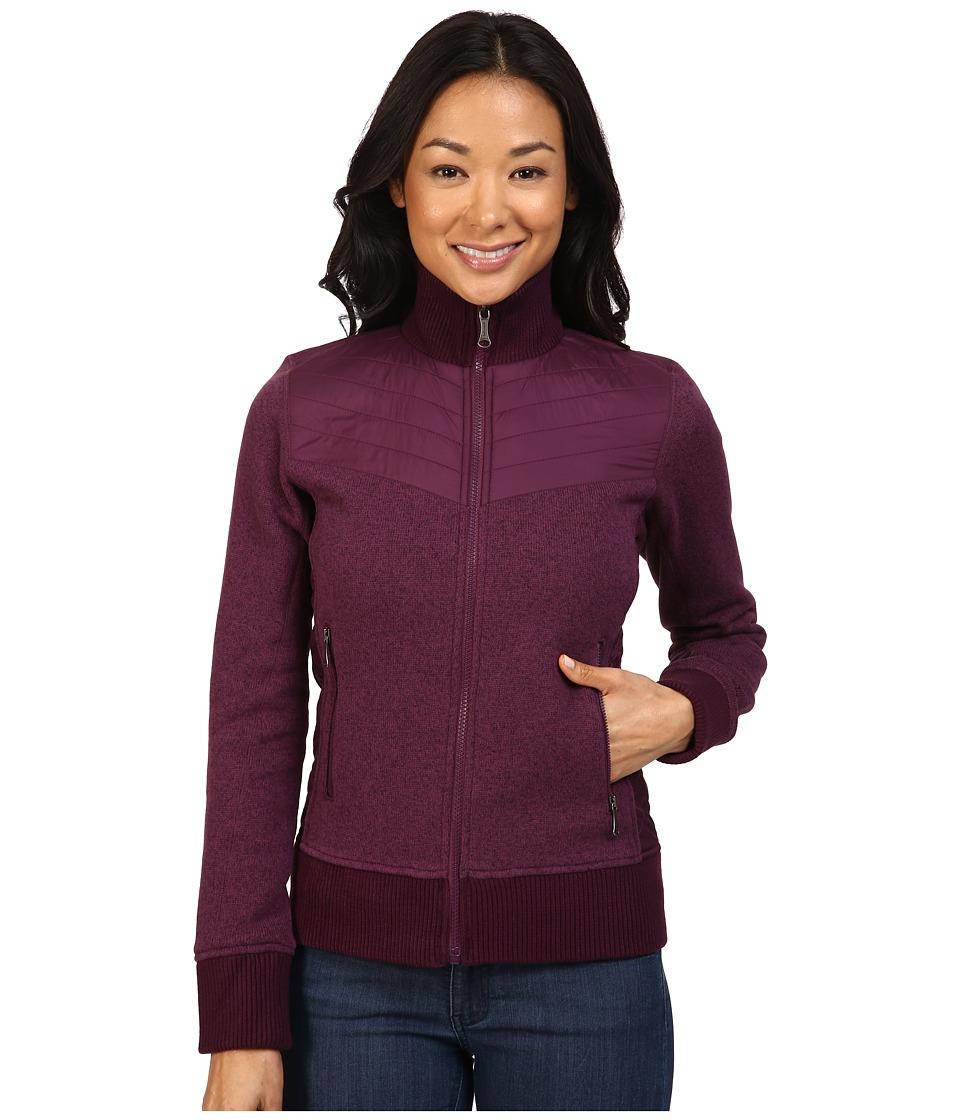 Marmot - Tech Sweater (Dark Purple) Women's Sweater
