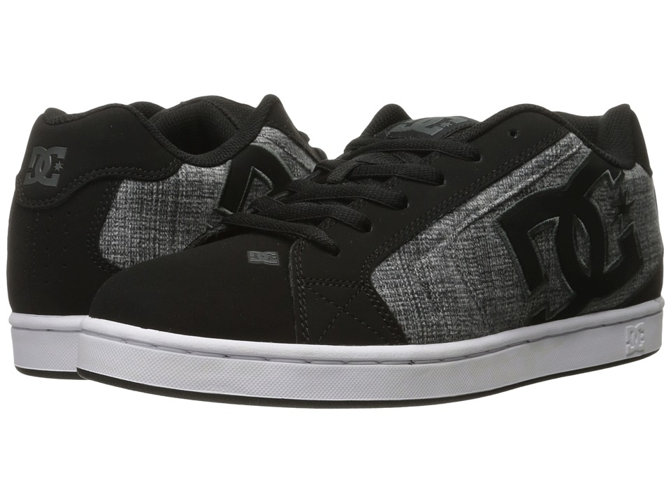 DC - Net SE (Black Marl) Men's Skate Shoes