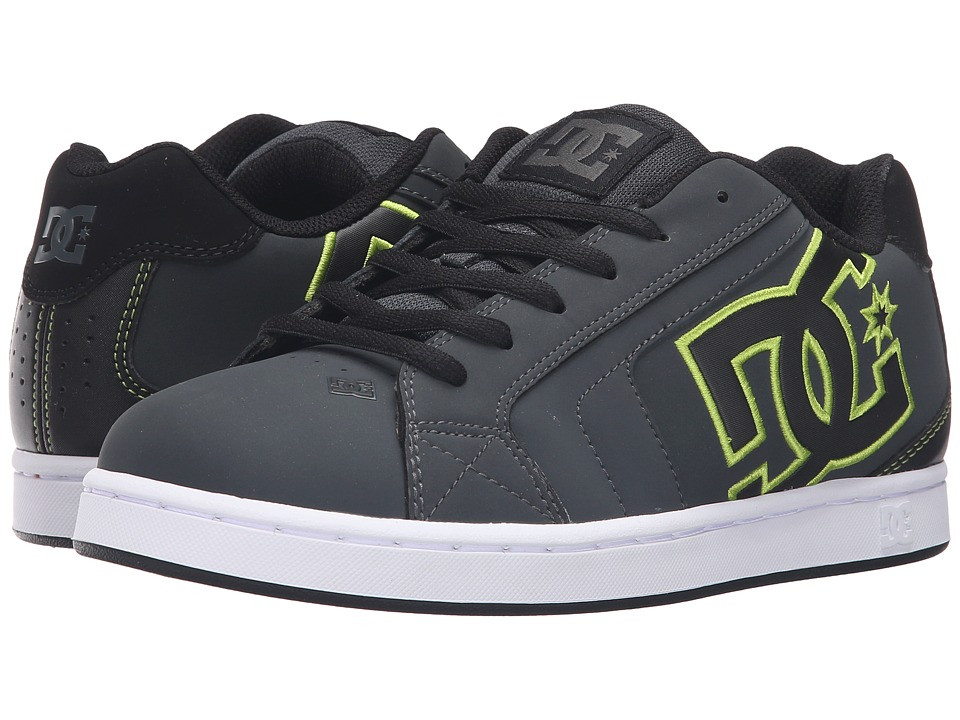 DC Net (Grey/Black/Green) Men