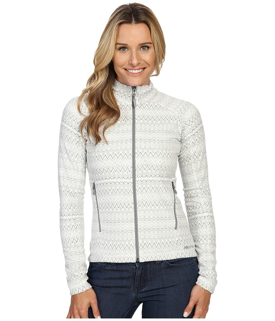 Marmot - Rocklin Full Zip Jacket (Soft White Alps) Women's Clothing