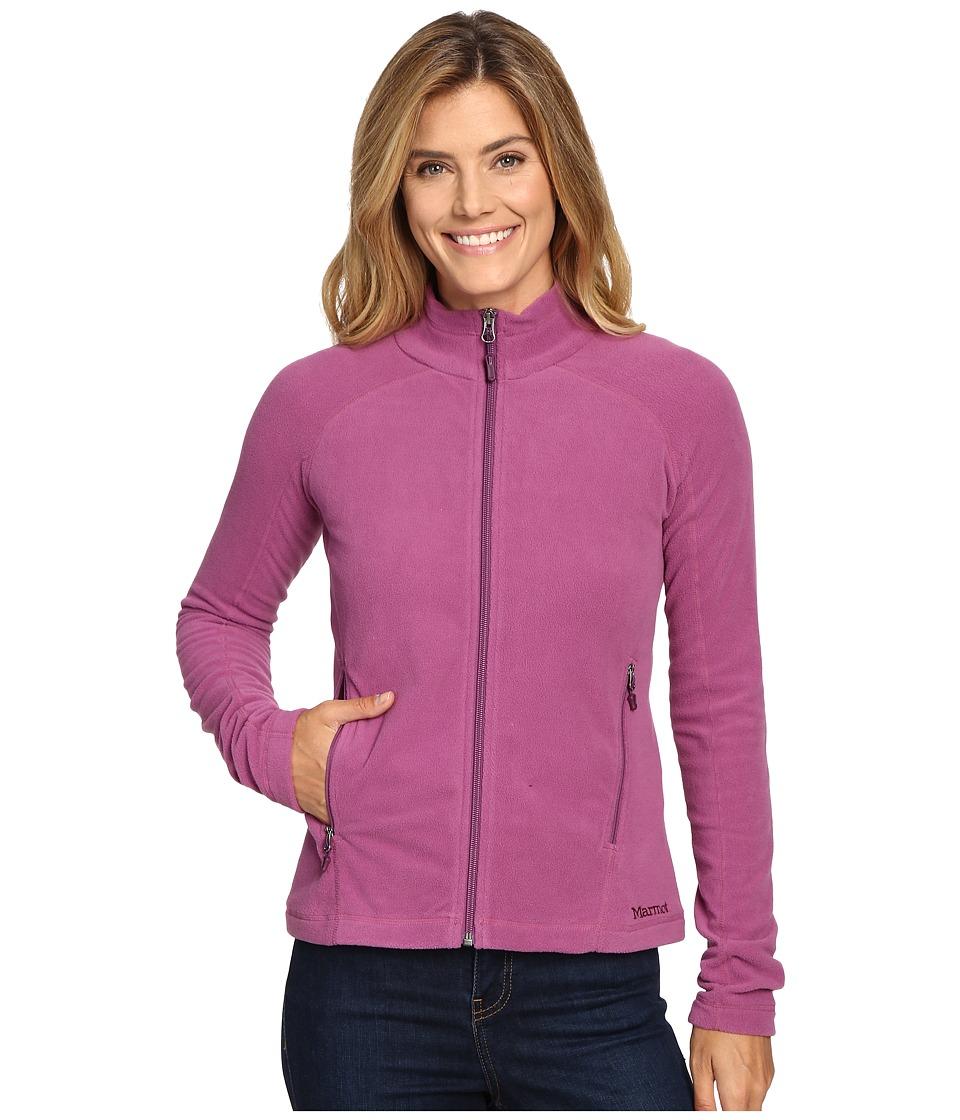 Marmot - Rocklin Full Zip Jacket (Amethyst) Women's Clothing