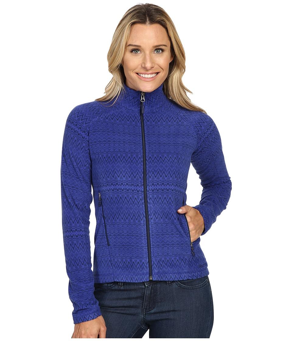 Marmot - Rocklin Full Zip Jacket (Royal Night Alps) Women's Clothing