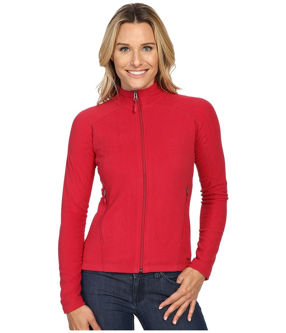 Marmot - Rocklin Full Zip Jacket (Persian Red) Women's Clothing