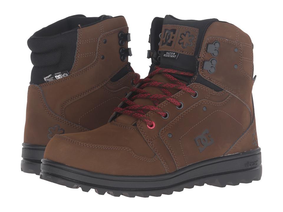 DC - SPT (Brown/Black) Men's Skate Shoes