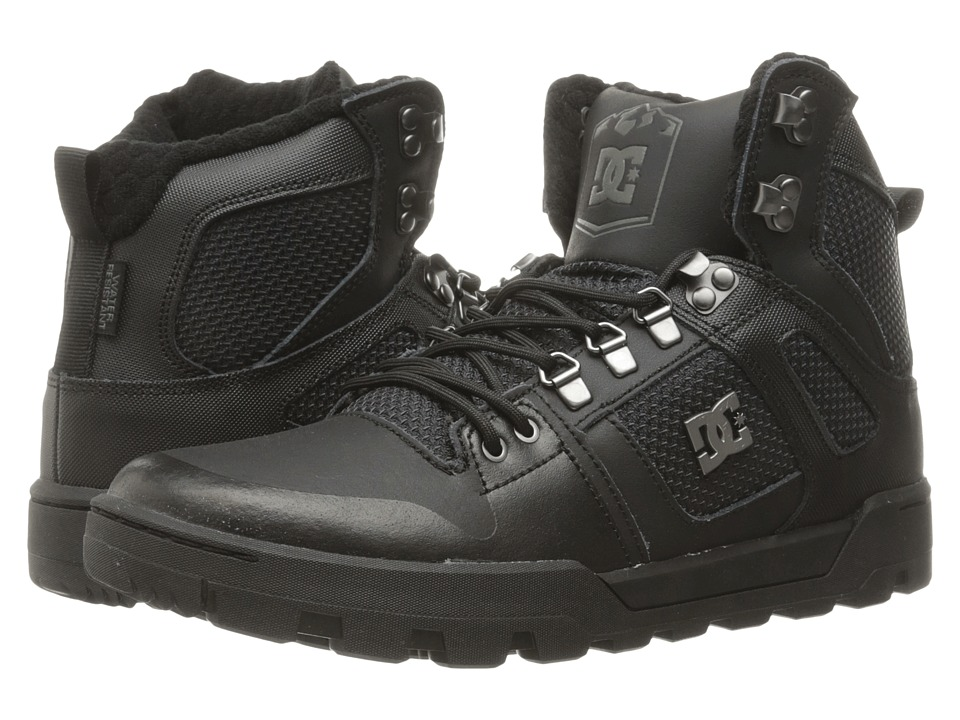 DC - Spartan High WR Boot (Black 3) Men's Boots