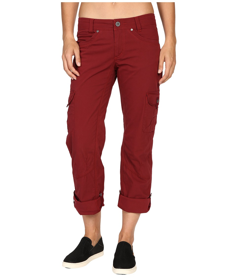 KUHL - Splash Roll-Up Pant (Syrah) Women's Casual Pants