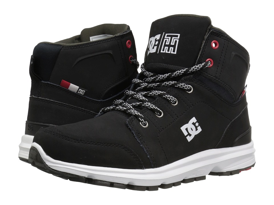 DC - Torstein (Black/White) Men's Skate Shoes