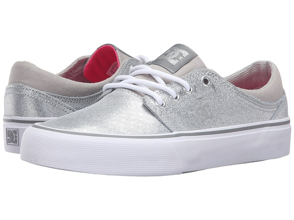 DC - Trase SE (Silver) Women's Skate Shoes