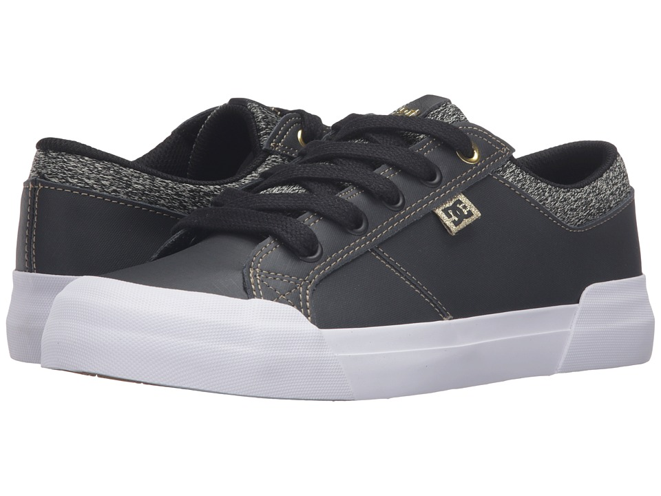 DC - Danni SE (Black Dark Used) Women's Skate Shoes