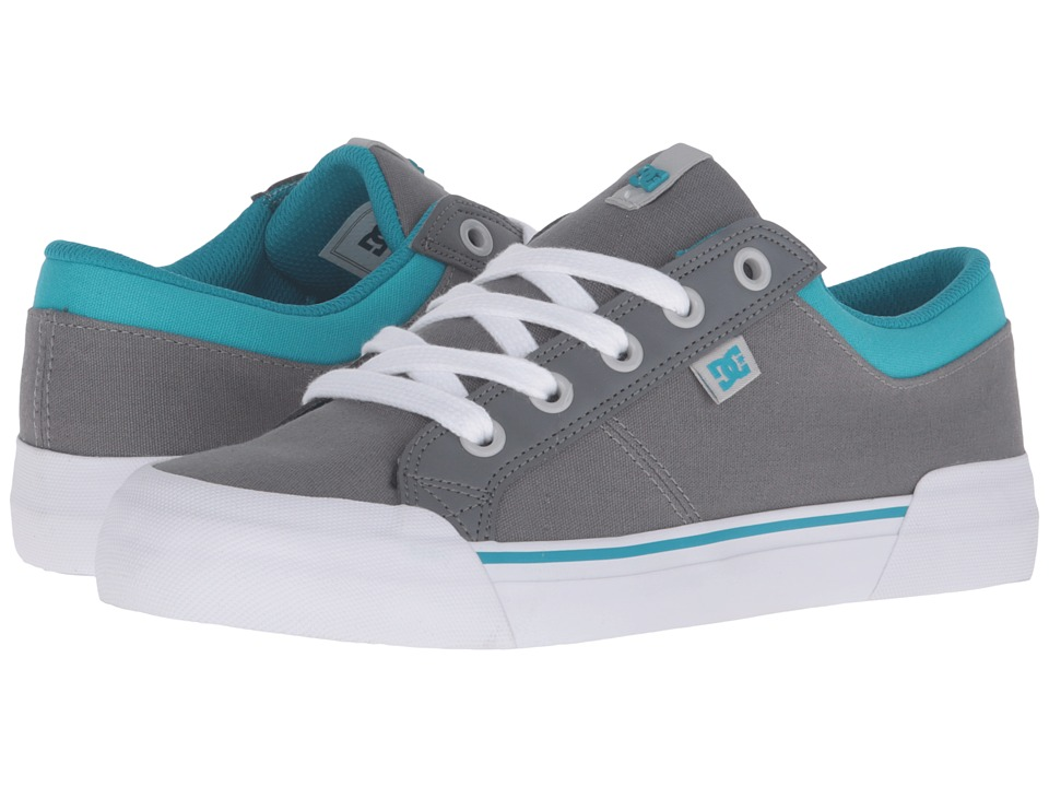 DC - Danni (Grey/Blue) Women's Skate Shoes