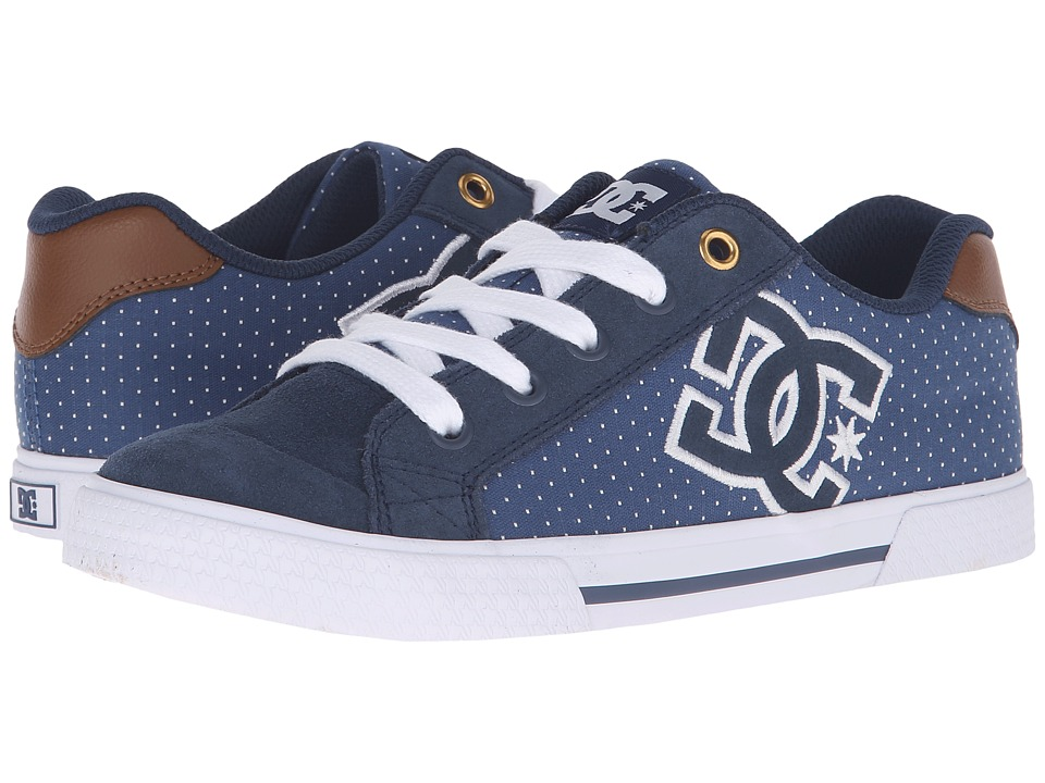 DC - Chelsea SE W (Blue/Brown/White) Women's Skate Shoes