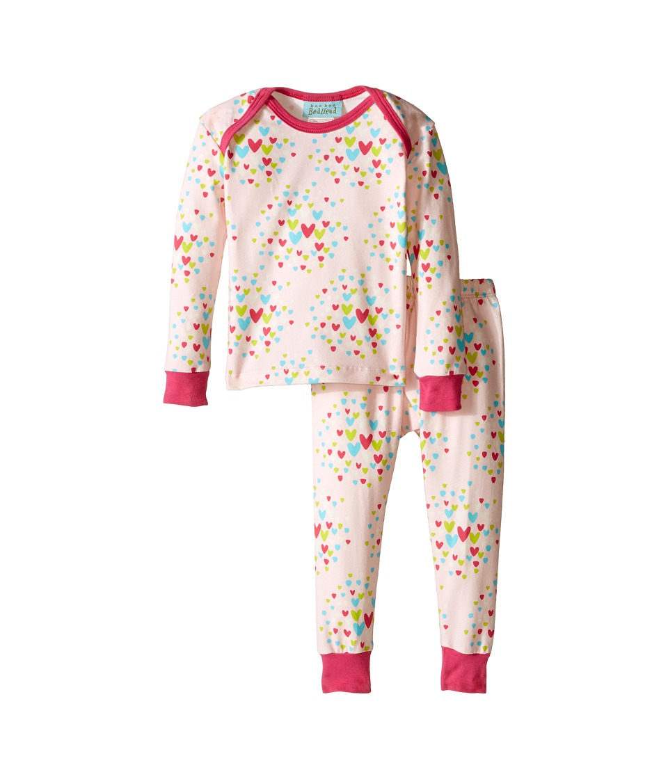 BedHead Kids - L/S Tee Pant (Infant) (Confetti Hearts) Girl's Pajama Sets