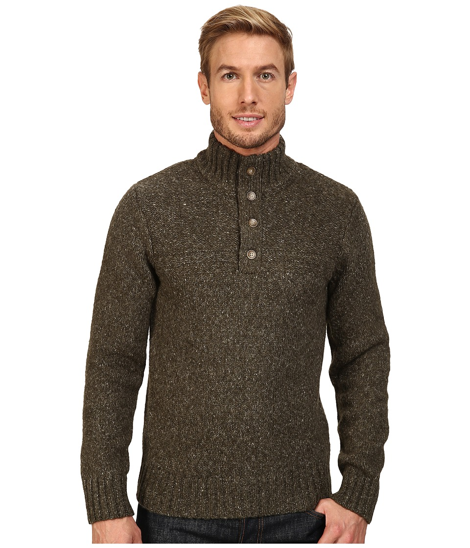 Royal Robbins - Sequoia Button Mock Sweater (Cypress) Men's Sweater
