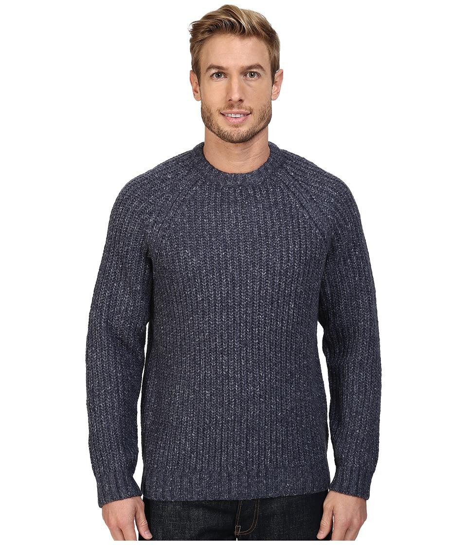 Royal Robbins - Sequoia Crew Sweater (Navy) Men's Sweater