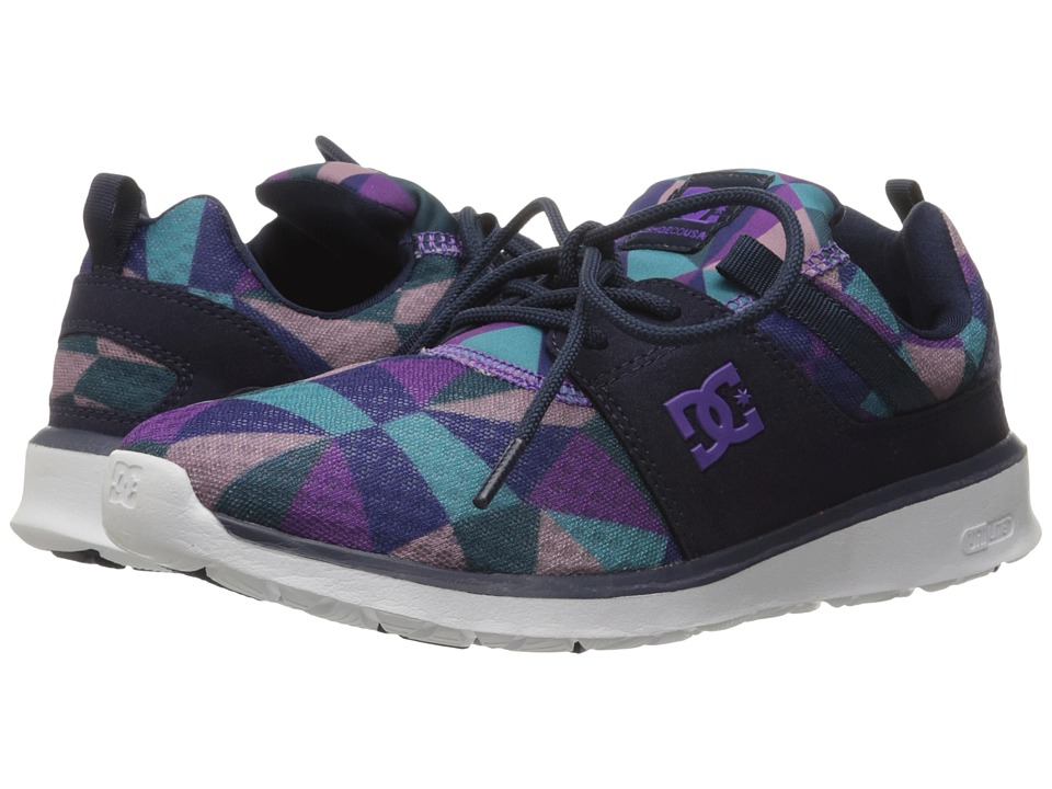 DC - Heathrow SE (Purple Rain/Dusty Purple) Women's Skate Shoes