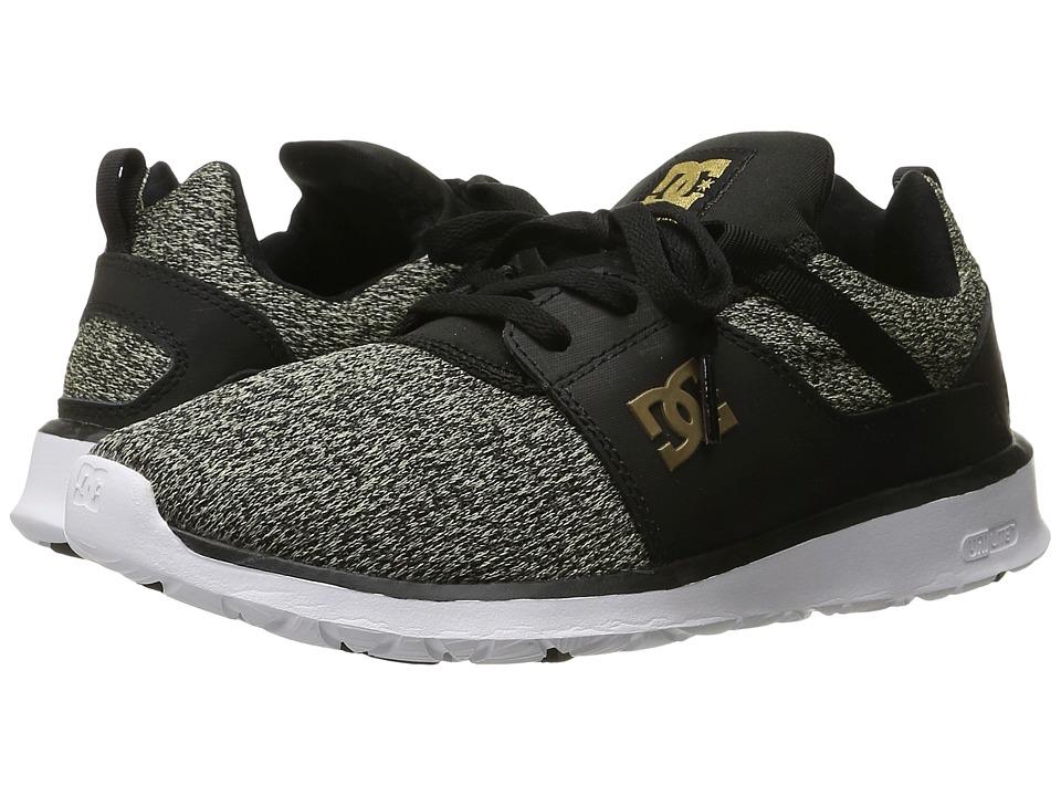 DC - Heathrow SE (Black Dark Used) Women's Skate Shoes