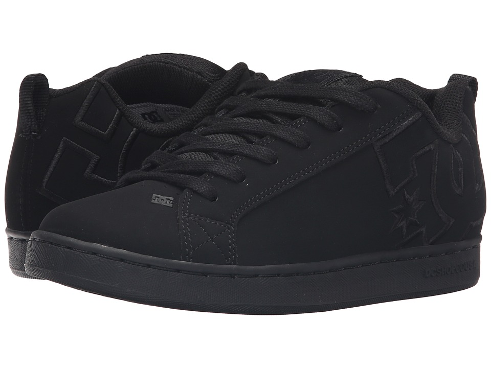 DC - Court Graffik SE W (Black/Black/Black) Women's Skate Shoes