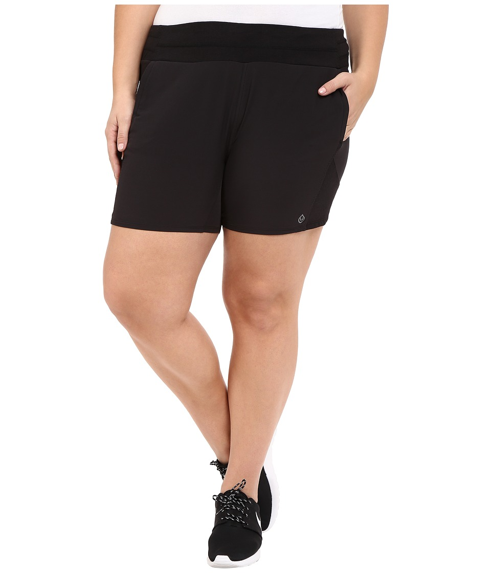 tasc Performance - Finesse Shorts (Black) Women's Shorts
