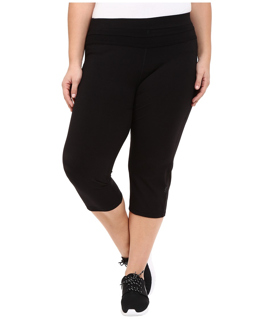 tasc Performance - Power Fitted Capris (Black) Women's Shorts
