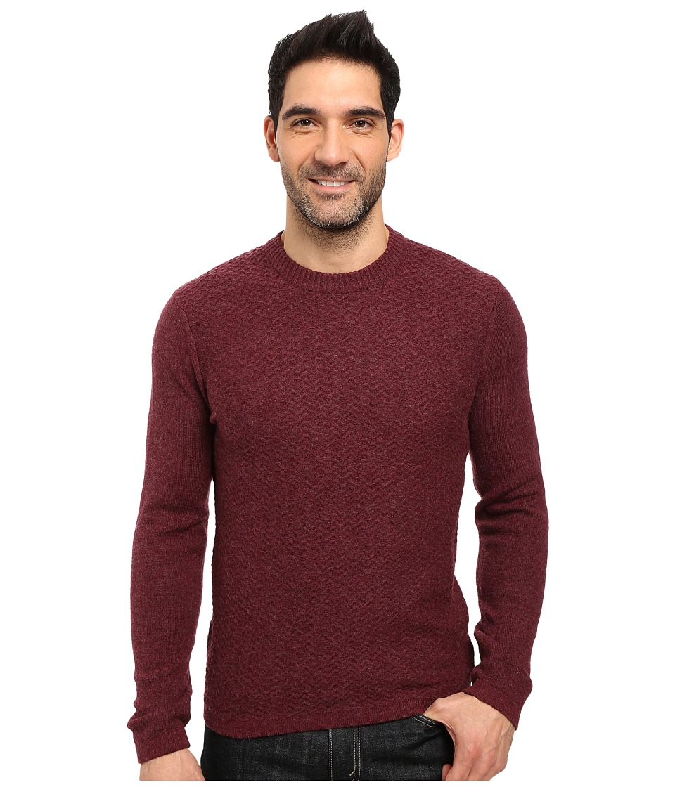 Royal Robbins - Fireside Wool Crew Sweater (Cedar) Men's Sweater