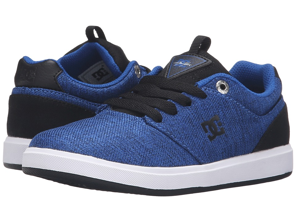 DC Kids - Cole Signature TX SE (Little Kid) (Blue/Black/White) Boys Shoes