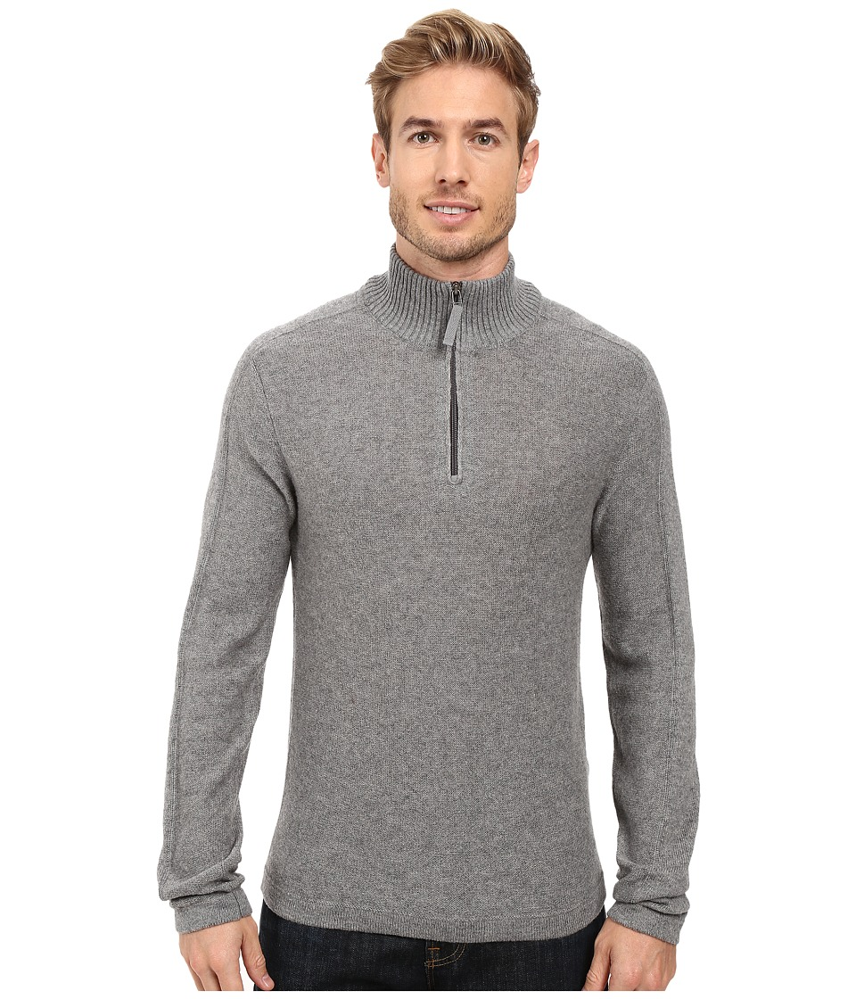Royal Robbins Fireside Wool 1/4 Zip Sweater (Pewter) Men