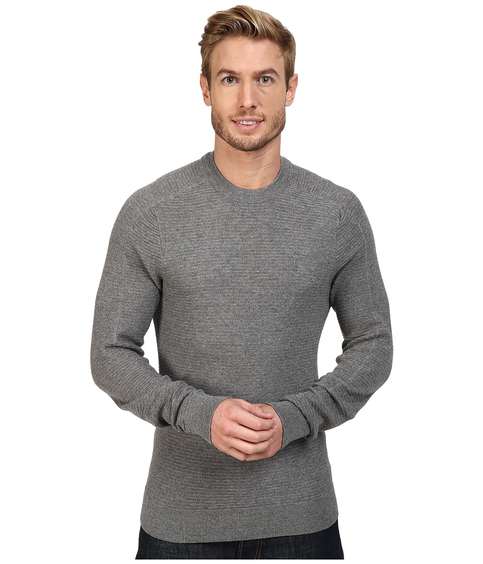Royal Robbins All Season Merino Thermal Crew Sweater (Pewter) Men