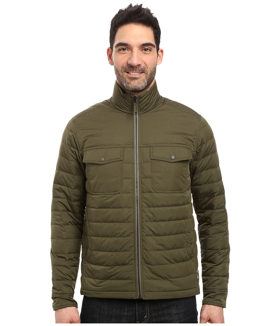 Royal Robbins - Batten Down Jacket (Dark Olive) Men's Coat