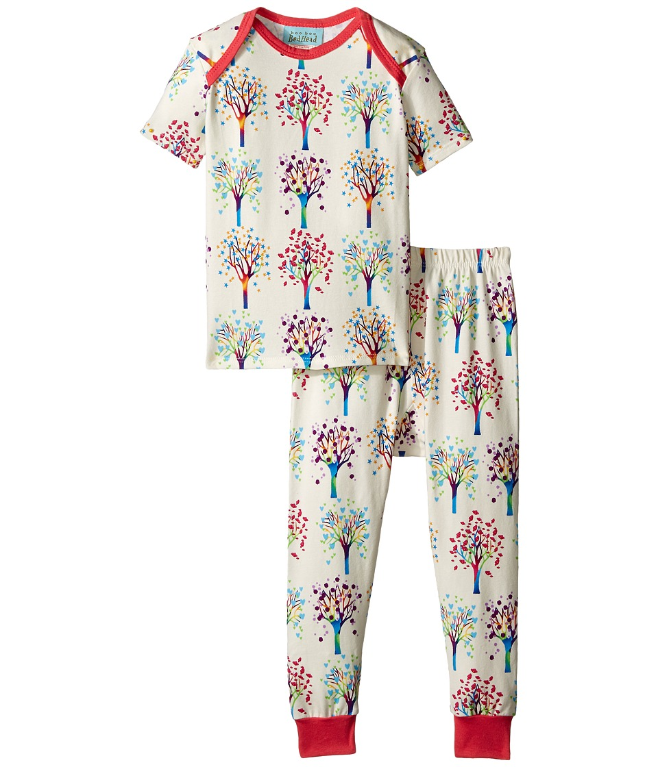 BedHead Kids - Short Sleeve Tee Pant Set (Infant) (Tree Of Life) Boy's Pajama Sets
