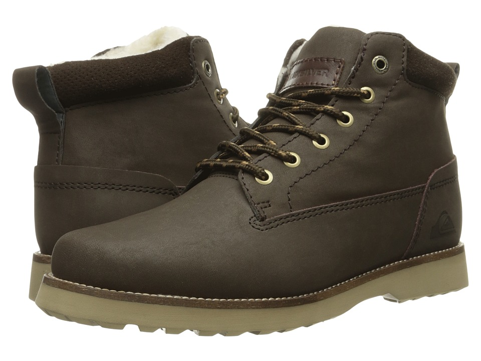 Quiksilver - Mission II (Brown/Brown/Brown) Men's Lace-up Boots