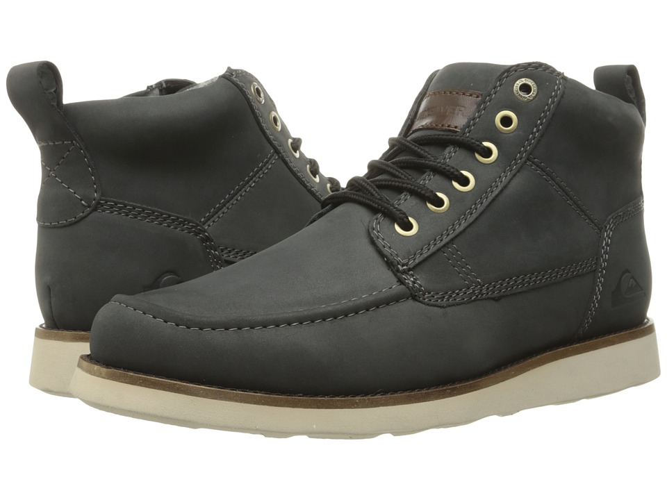 Quiksilver - Sheffield '15 (Black/Black/Brown) Men's Lace-up Boots