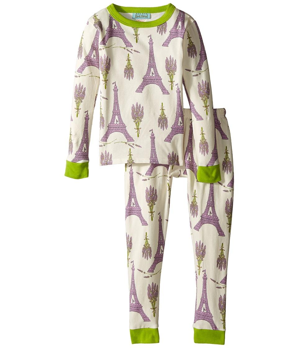 BedHead Kids - Snug Fit L/S Classic PJ (Toddler/Little Kids) (Lavender Eiffel) Girl's Pajama Sets