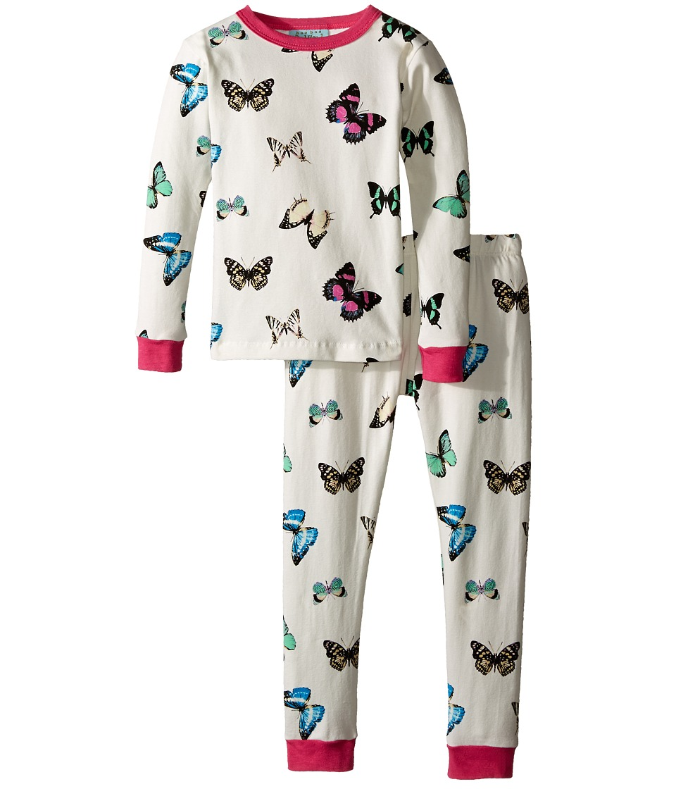 BedHead Kids - Snug Fit L/S Classic PJ (Toddler/Little Kids) (Wings of Desire) Girl's Pajama Sets