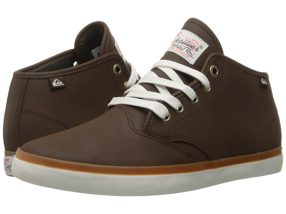 Quiksilver - Shorebreak Deluxe Mid (Brown/Brown/Brown) Men's Lace up casual Shoes