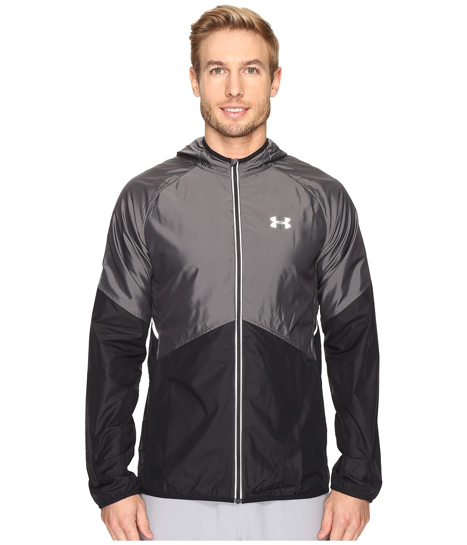 Under Armour - Nobreaks Storm 1 Jacket (Black/Black/Reflective) Men's Coat