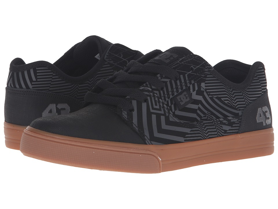 DC Kids - Tonik KB (Big Kid) (Black/Gum) Boys Shoes