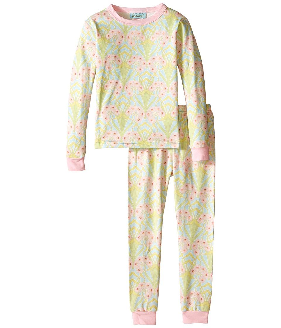 BedHead Kids - Long Sleeve Two-Piece PJ (Toddler/Little Kids) (Blue Nouveau) Boy's Pajama Sets