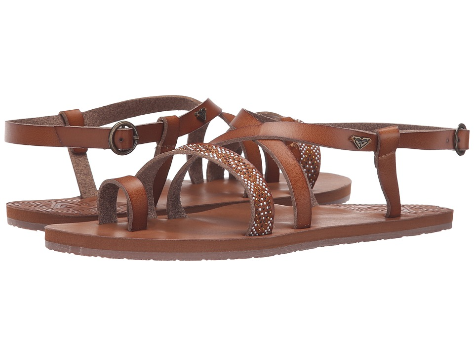 Roxy - Palmela (Tan) Women's Sandals