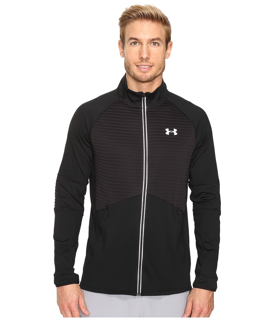 Under Armour - Nobreaks ColdGear(r) Infrared Jacket (Black/Black/Reflective) Men's Coat