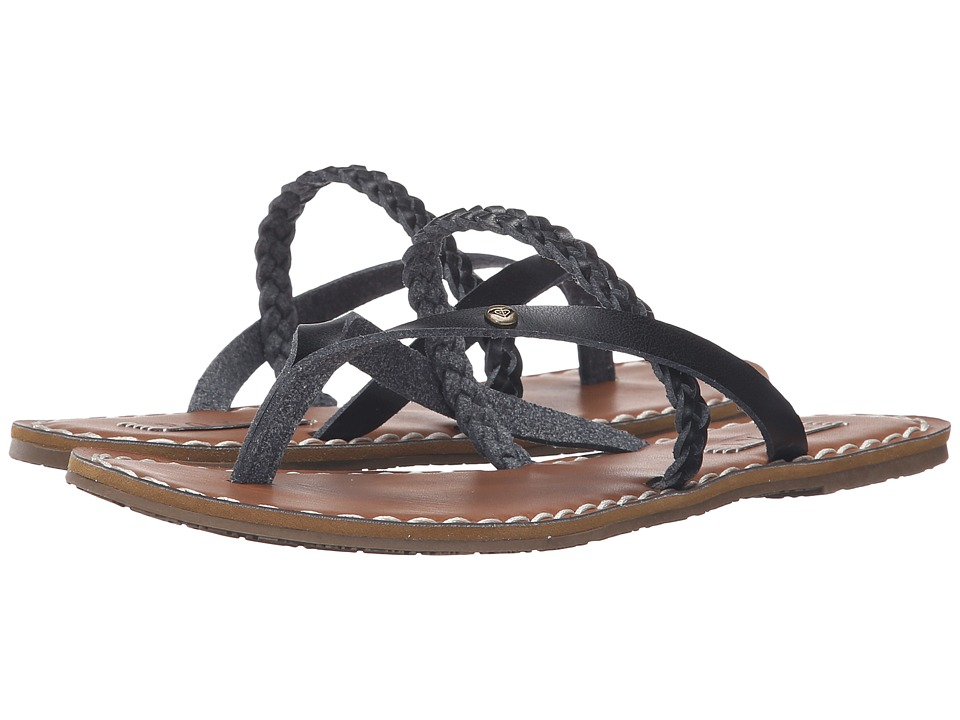 Roxy - Lanae (Black) Women's Sandals