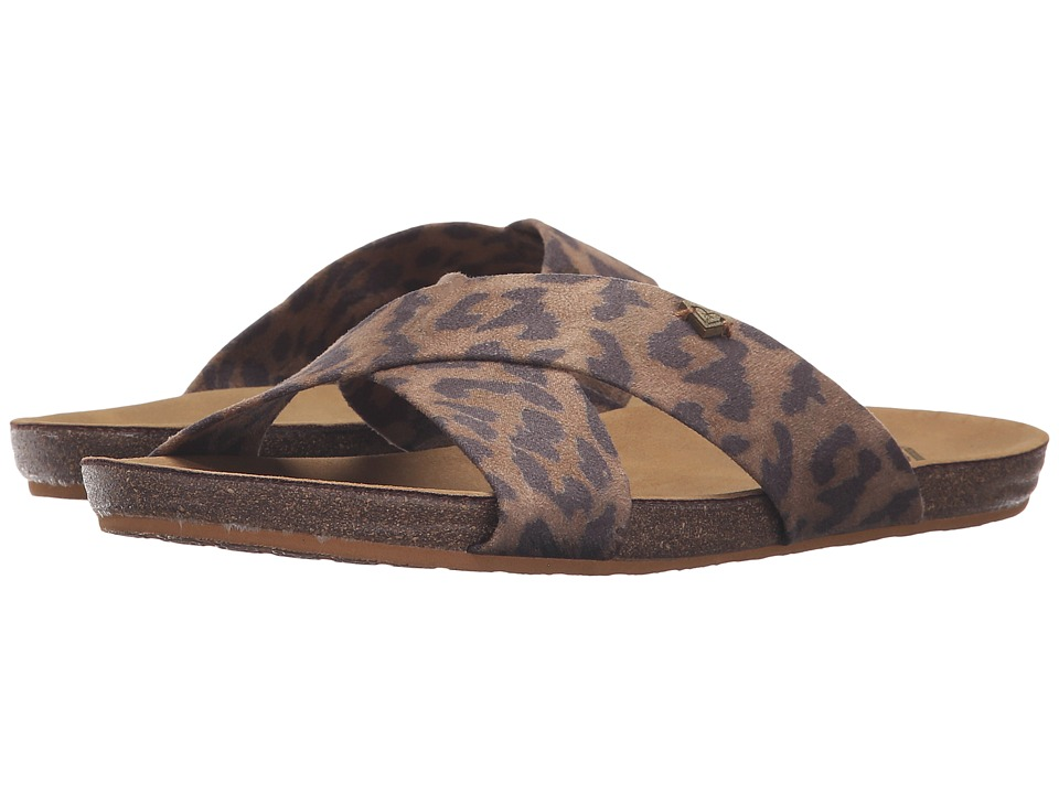 Roxy - Connor (Cheetah Print) Women's Sandals